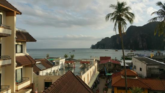 Phi Phi Hotel: View from my balcony