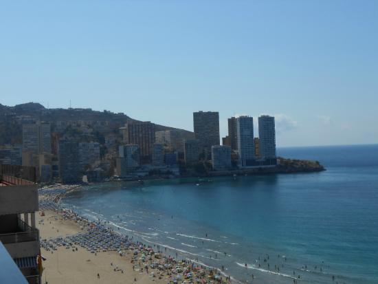Les Dunes Comodoro Hotel: Вид из номера.
