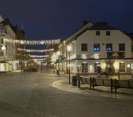 View of Halmstad's Town Center