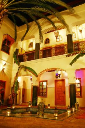 Riad Zanzibar: Night time