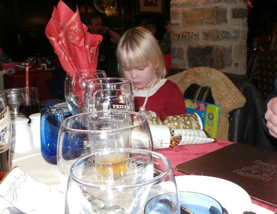 The Fox House Inn & Restaurant: Another family meal in the Restaurant.