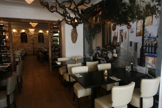 Mooie decoratie in grieks restaurant elia foto van elia grieks