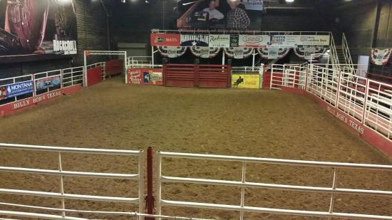 Indoor Rodeo Arena Picture Of Billy Bob S Texas