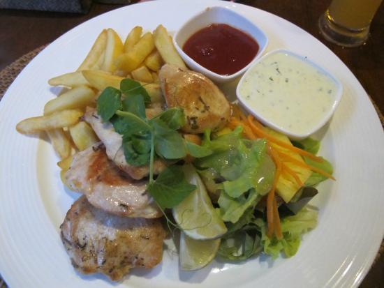 Sandals Restaurant & Barefoot Bar : Tasty Chicken