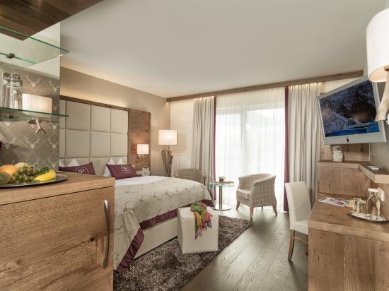 Hotel Bismarck: Doppelzimmer Schlossalm