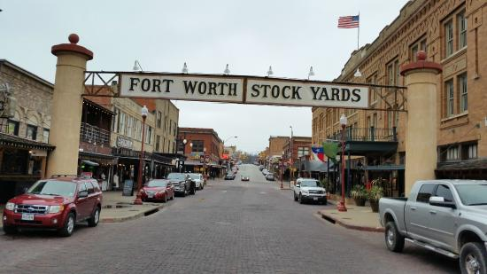 Entrance to the Stockyards Picture of Fort Worth Stockyards