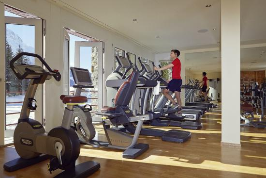 Badrutt's Palace Hotel: Fitness Centre