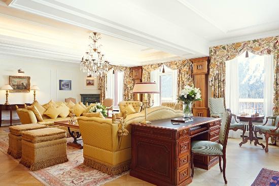 Badrutt's Palace Hotel: Helen Badrutt Suite