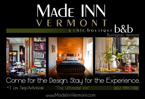 made inn vermont an urban chic boutique b b in downtown burlington