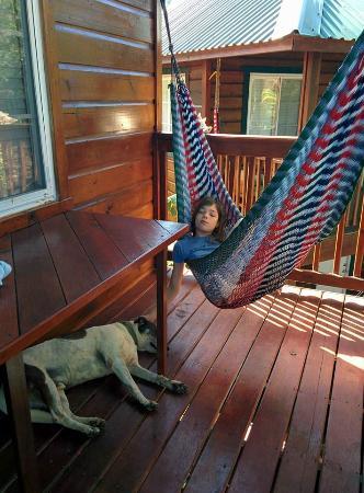 porch of Loft