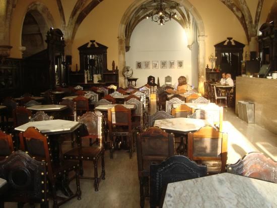 Cafe Santa Cruz : Vista do café