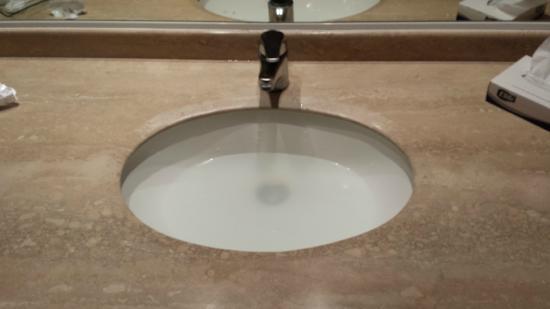 Hotel Diego de Almagro Calama: Lavamanos tapado
