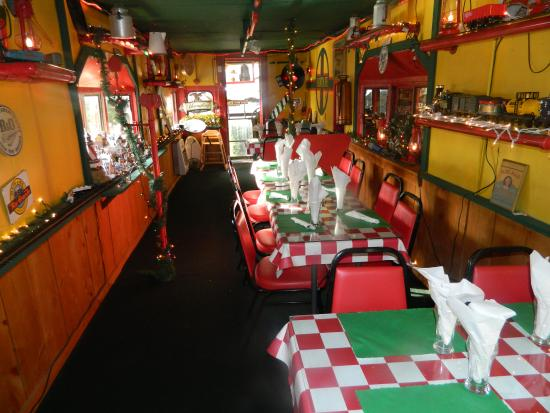 Legends Restaurant: Burgers and fresh cut fries, or seafood steaks and pasta. Lots of variety!