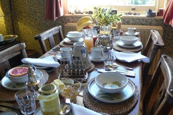 Stane House: Breakfast Room