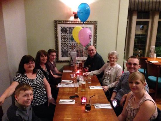 Seven Wells: birthday party