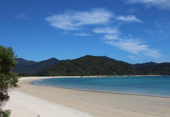 Everton Bed & Breakfast: one of Abel Tasman beaches