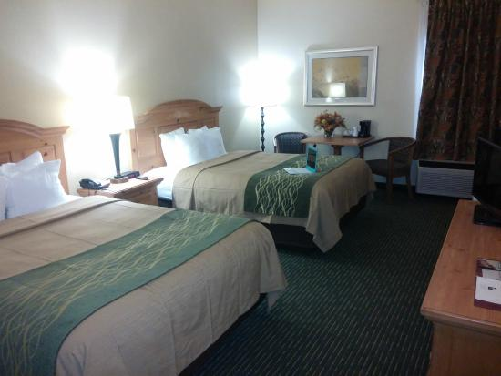 Comfort Inn: 2 Queen Beds Deluxe
