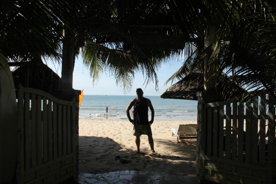 Nhat Quang Family: Am Strand