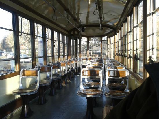 Linea 7 Storica : interno vettura