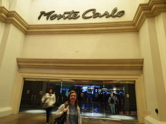 Casino at the Monte Carlo Resort : cassino monte carlo -