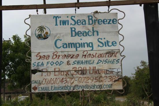 Tiwi Sea Breeze Restaurant: entrata hotel
