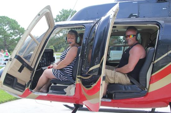 International HeliTours: just before take off
