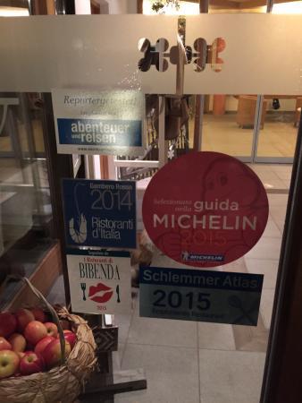 Bad Schorgau: Награды на дверях отеля