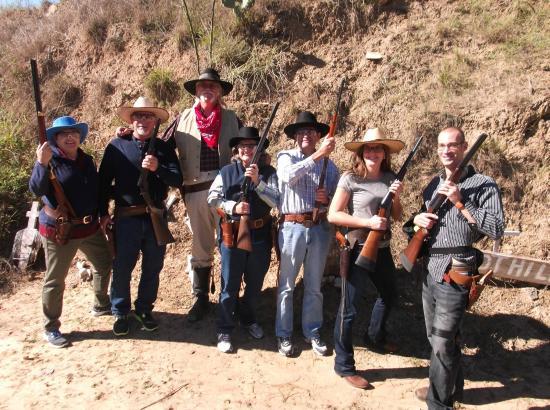 San Antonio Western Shooting: The Posse