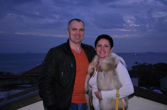Hotel Sphendon: На крыше