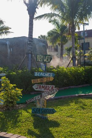 Lighthouse Cove Adventure Golf: only blocks away from the beautiful Jupiter beaches