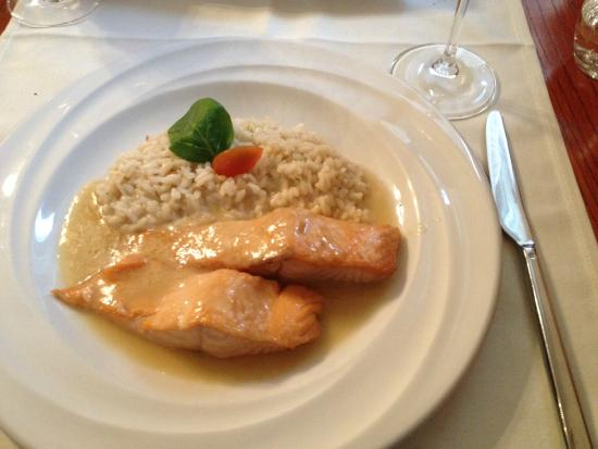 Canvetto Federale : wunderbarer Lachs
