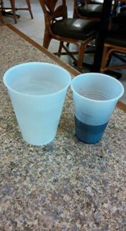 Chase Suite Hotel- Tampa: wine pour compared to a soda
