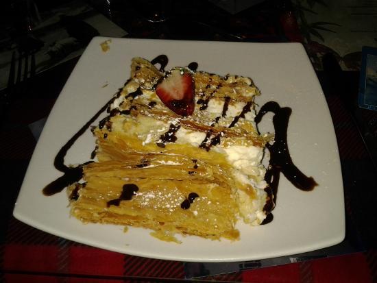 La Creperie: Dessert - Napoleon