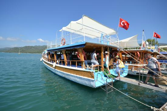Kalkan, Turkey: kekova boat trip from kekova with Unlimited Holidays