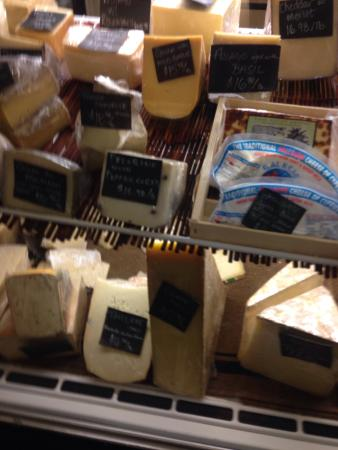 The Boulevard Market: Cheeses from around the world