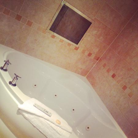 Guy's Thatched Hamlet: AMAZING bathroom