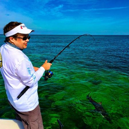 Shark fishing charters picture of angling adventures for Marathon key fishing charters