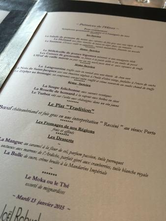 Carte Restaurant Bordeaux.La Carte Picture Of Pierre Gagnaire Bordeaux Tripadvisor