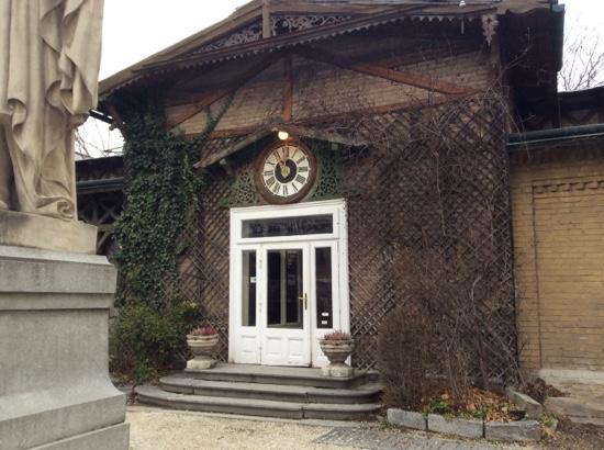 Schloss Concordia: Eingang...