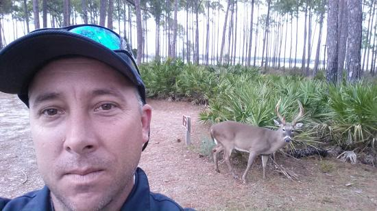 St. Andrews State Park: Hold on.... Let me take a selfie...