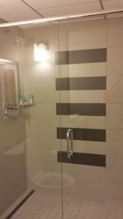 Hyatt Regency Indianapolis: nice shower