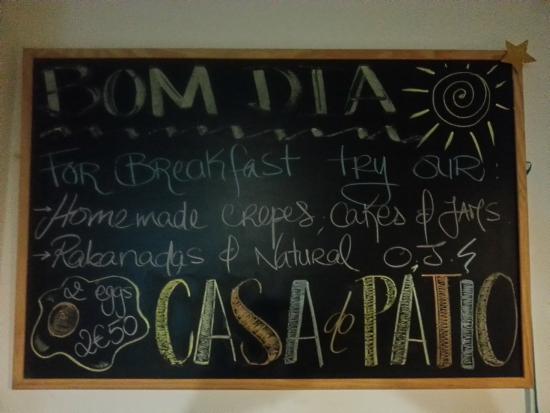 Casa do Patio by Shiadu: Yummy breakfast