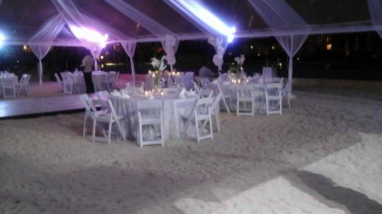 My Wedding Reception Under The Tent Picture Of Royalton White