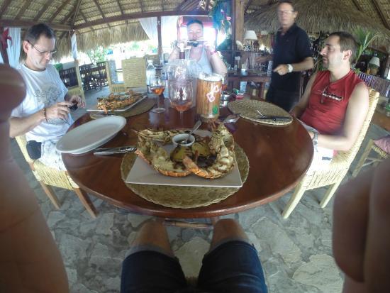 Bamboo Beach: quelle assiette !!!!