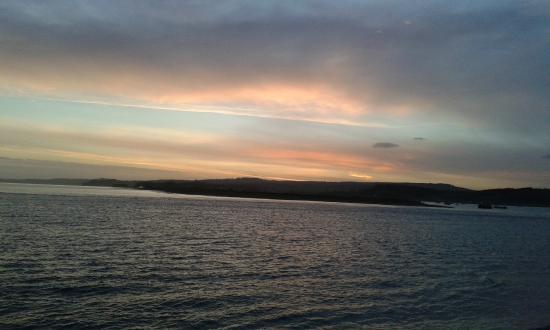 Bay Grand Hotel: Sunset