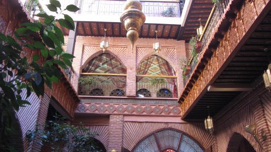 Riad & Spa Mabrouk: Interior