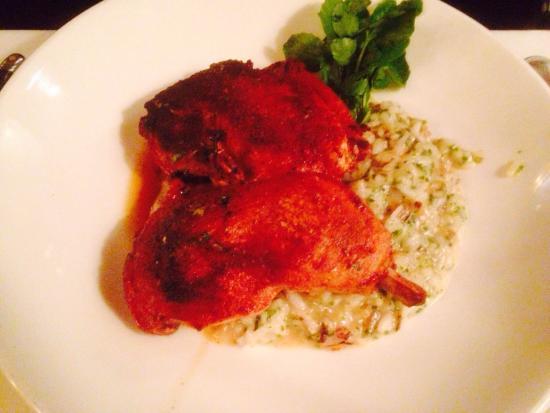 Grill 23 & Bar : Beautiful chicken risotto