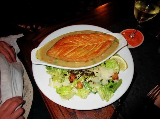 Bartholomew's English-Style Pub: Chicken Pot Pie