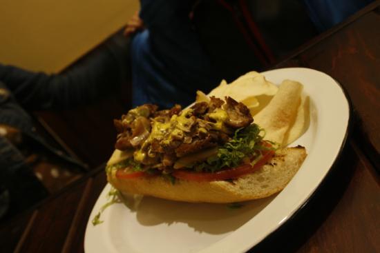 Sandwich taller