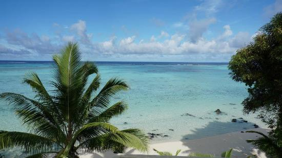 Pacific Resort Aitutaki: View from the room Villa
